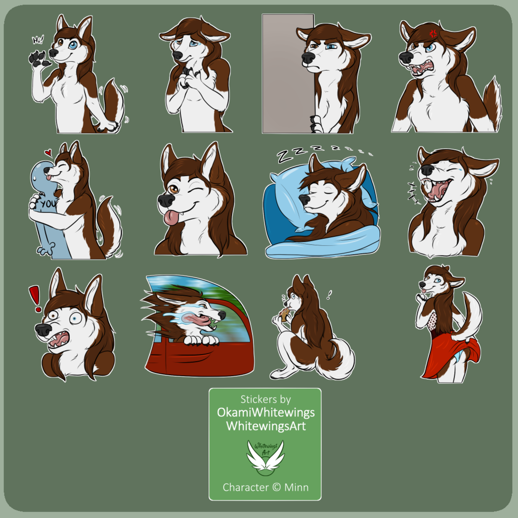 Telegram Stickers - Minn