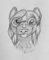 Smile!  Here's a cute sketch!  (by Tiny Wyvern)