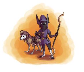 D&D Character - Msrah and Logan