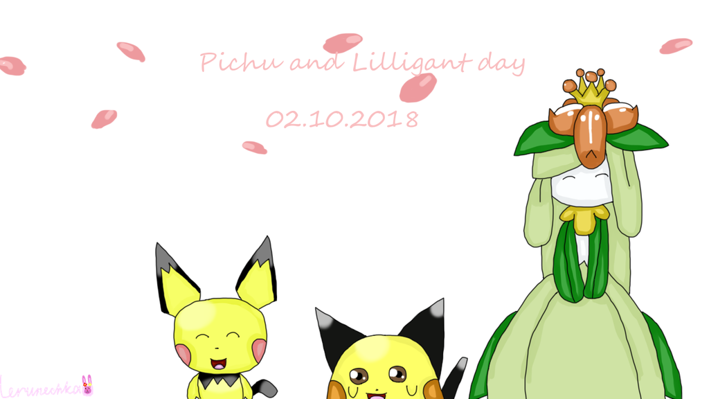 Pichu and Lilligant day