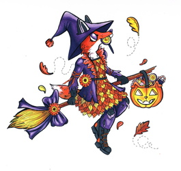 Foxy Trick of treating