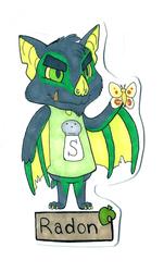 Badge - Radon