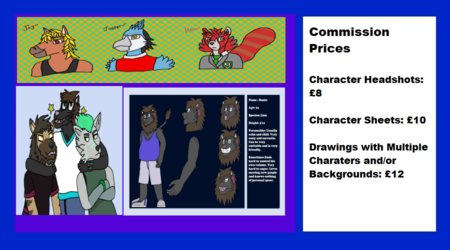 Commission Prices (Read Description for more info)