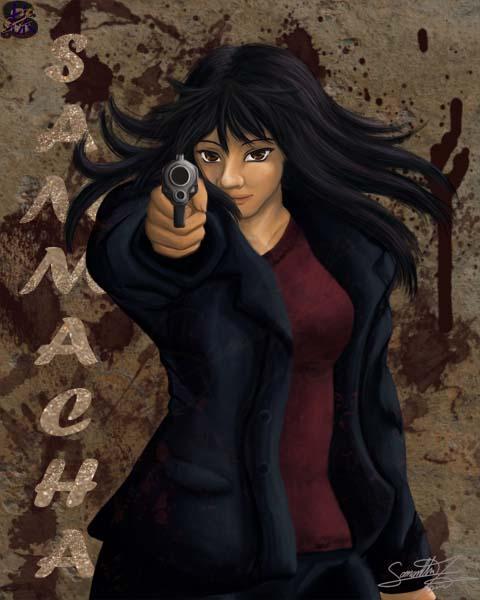 Shooter - Sammacha Badge