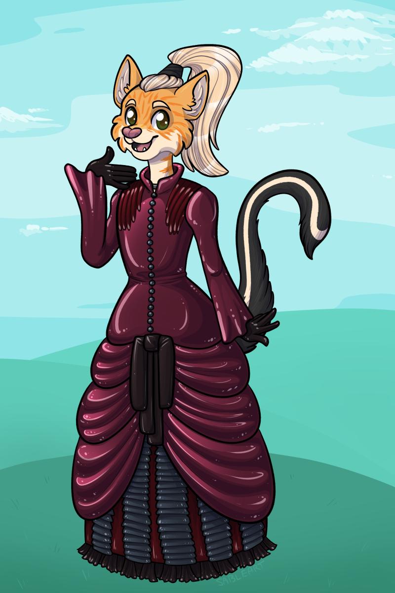 [ych] Fancy (Rubber) Dress