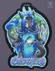Bluefire Badge