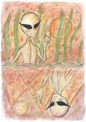 Lone Alien Wanderer