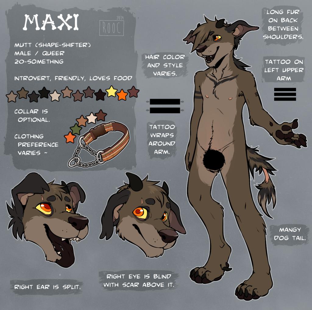 Maxi [MUTT] / Censored /
