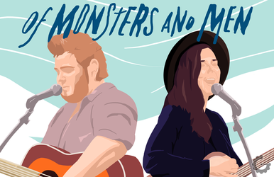 Ragnar and Nanna from Of Monsters and Men