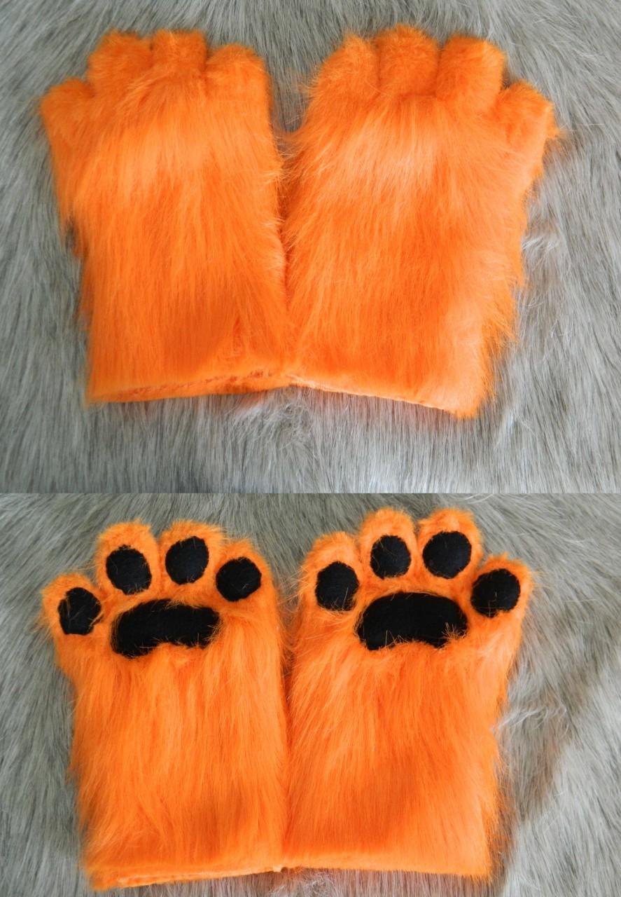 Orange Hand Paws FOR SALE