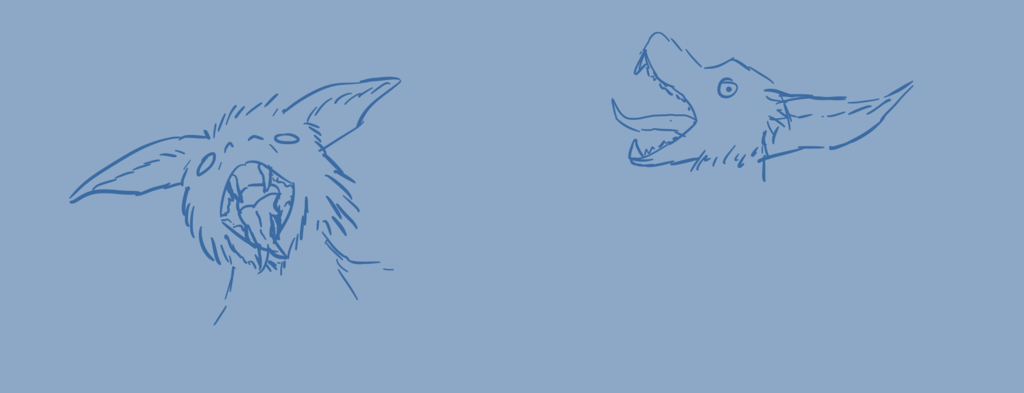 Random sketches - 001