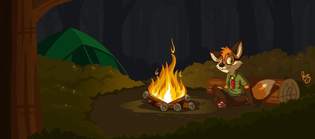 Kip camping