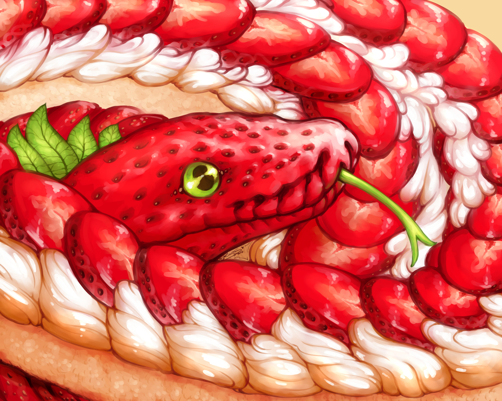 Strawberry Short Snek