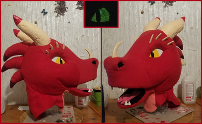 Red WIP - Finished Head