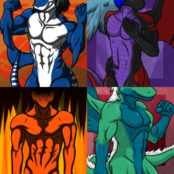Commissioned Sexy Icons Batch 07