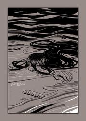 Inktober 8 Dark Water