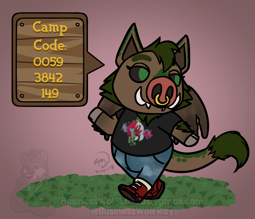 Pocket Camp Texer [Comm]