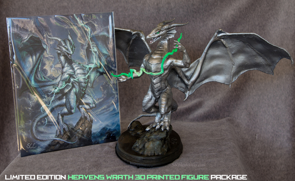 Limited Edition Ultimus Dragon 3D Print