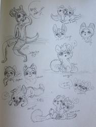 Friends sketchpage