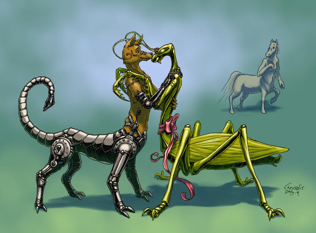 Unusual Centaurs