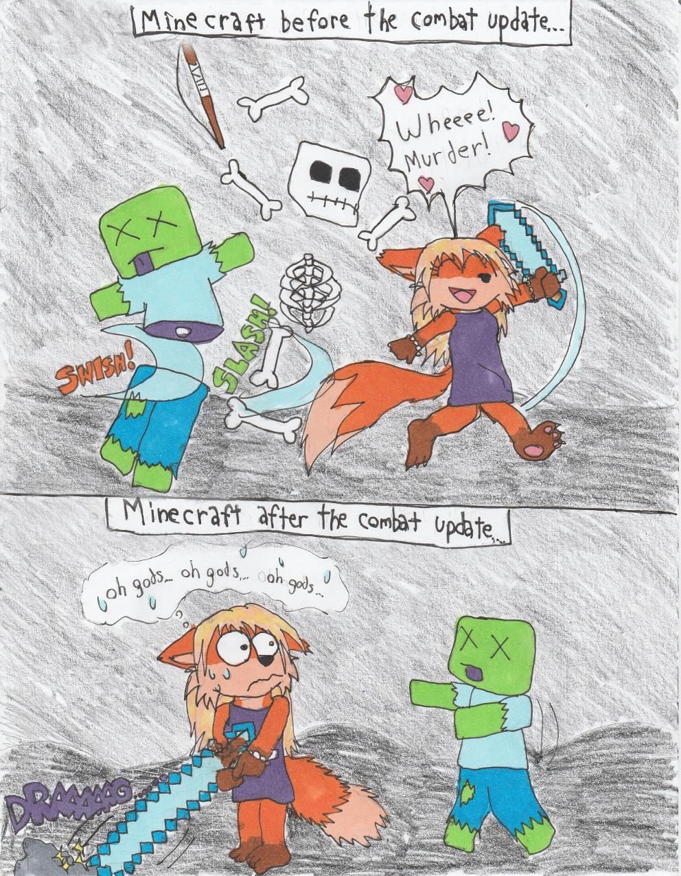 Minecraft-keep on swingin!