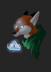 Lorxus Spooky Headshot Badge
