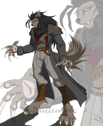 Allister Frost-Werewolf Monster Hunter