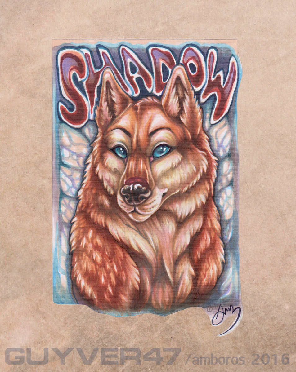 Most recent image: Shadowhuskie badge final
