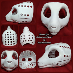 Kemono Goat Custom-made Head Base 1