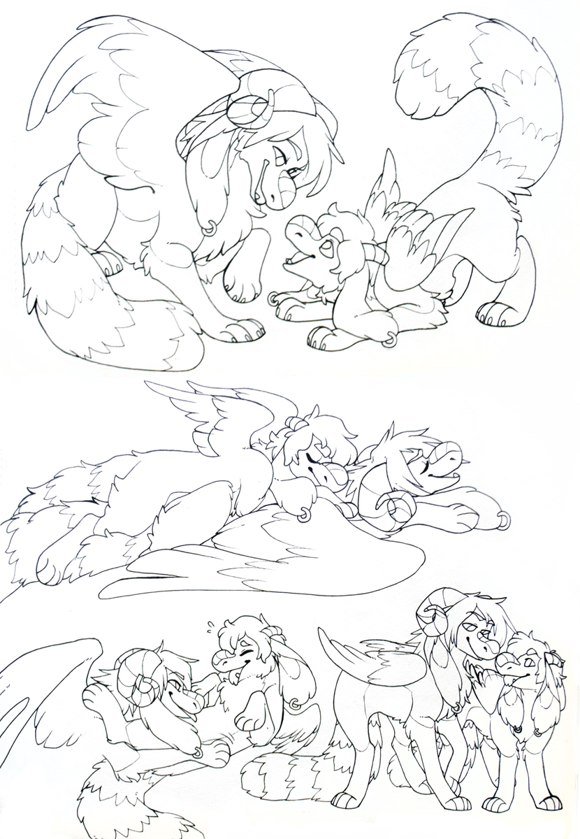 Short & Gideon sketchpage
