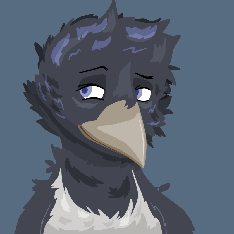 Comm - Magpie Bust 2