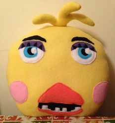 Toy Chica Character Pillow SOLD