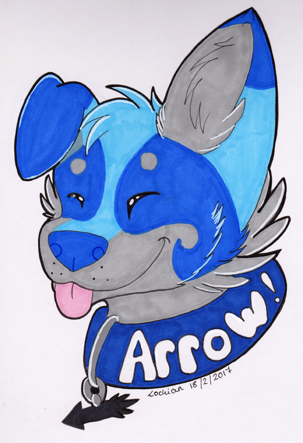 Gift for Arrow / WestsCreations