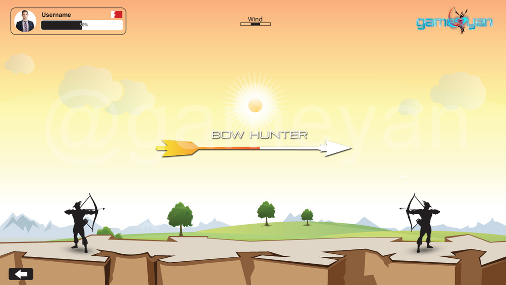 Bow Hunter – 2D multiplayer 2d mobile game development studio by GameYan Post Production Animation Studio