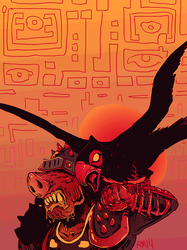 demon falconer