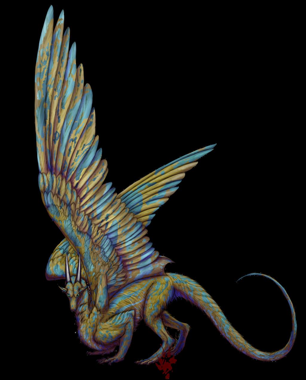 Dragon Sketch 14