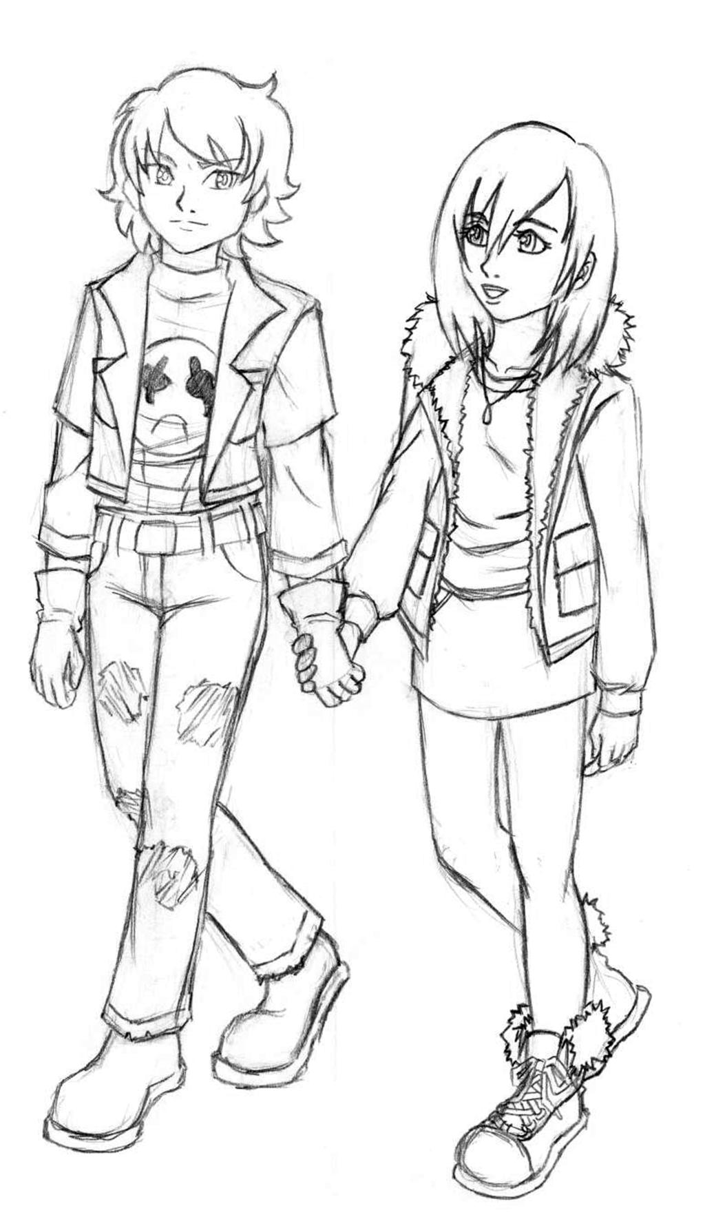 Zorhiria and Kairi