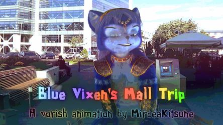 Blue vixen's mall trip