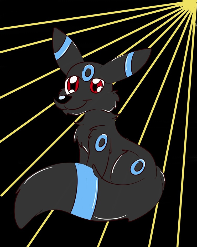 Most recent image: Fluffy Umbreon