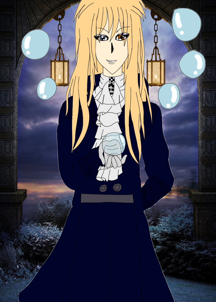 labyrinth jareth the goblin king anime style