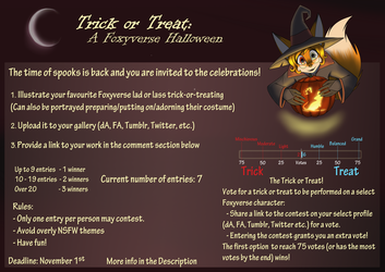 Trick or Treat: A Foxyverse Halloween Reminder!
