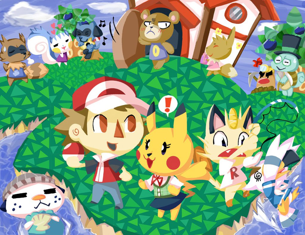 Most recent image: pokecrossing
