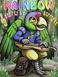Rainbow Ridicudorable Deluxe Badge