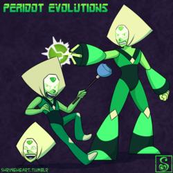 Steven Universe: Peridot Evolutions