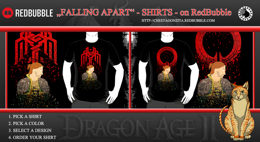 FALLING APART Anders Shirts - on RedBubble