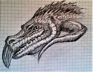 danger lizard sketches