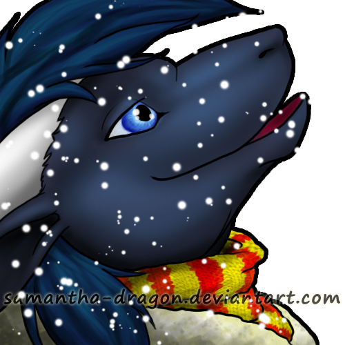 Commission: Snowy icon for Lunescale