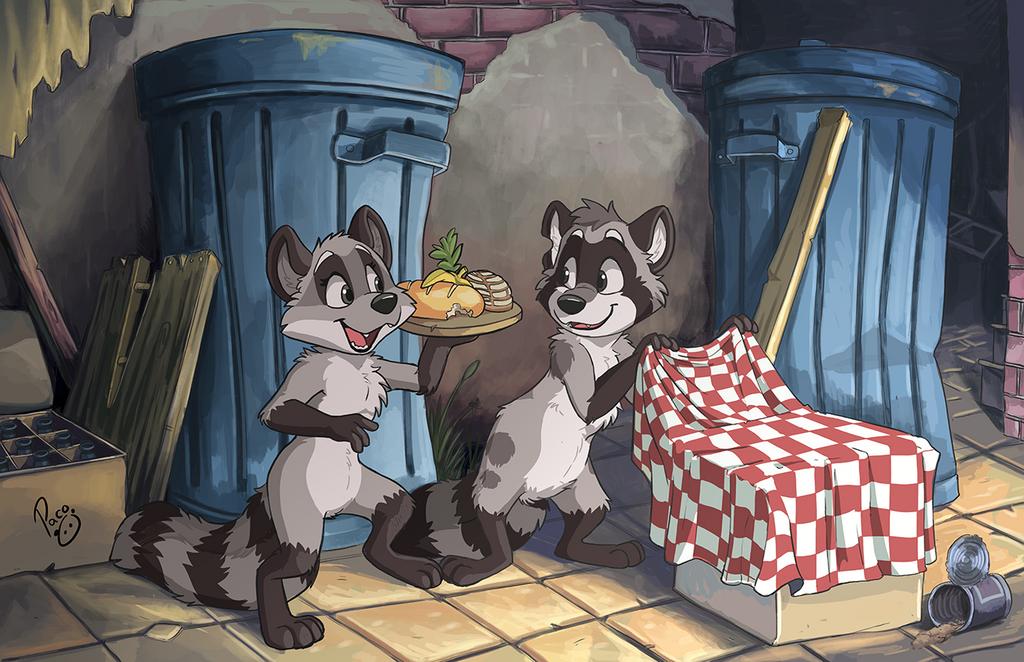 Raccoon date