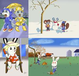 Seasonal Collage 2012