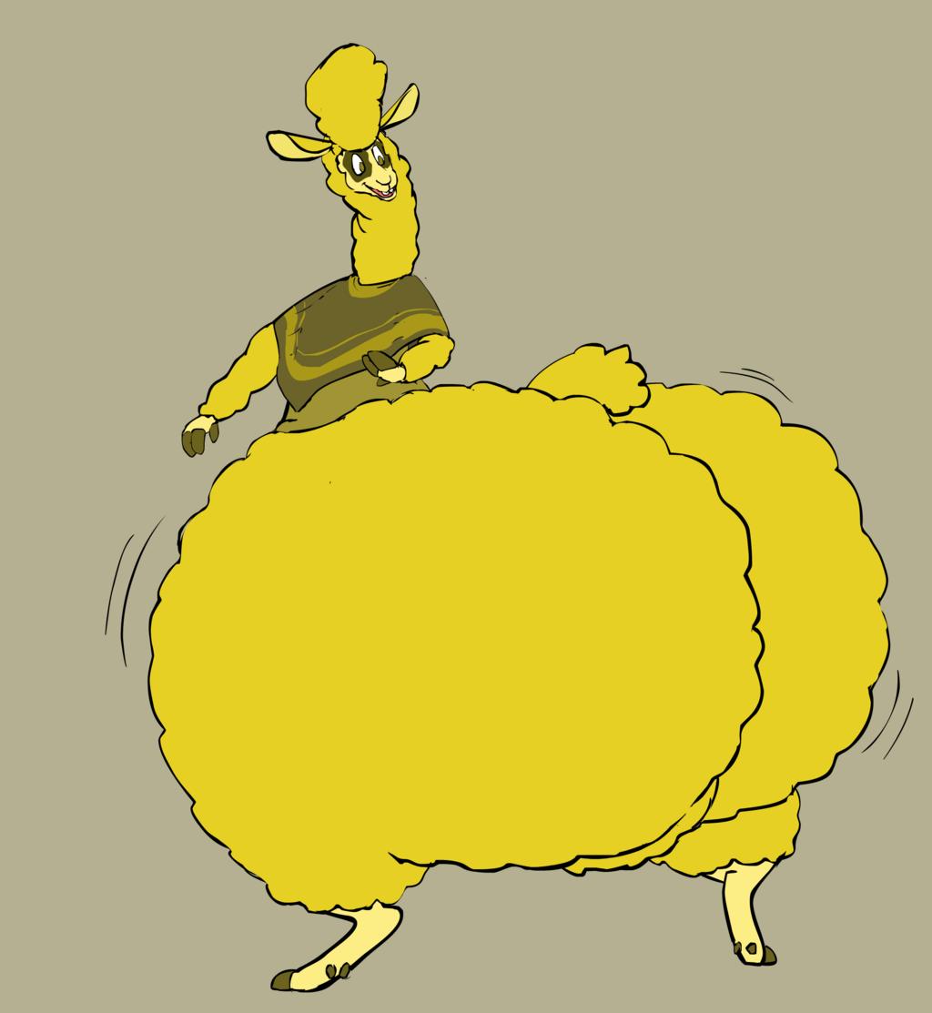 big booty llama